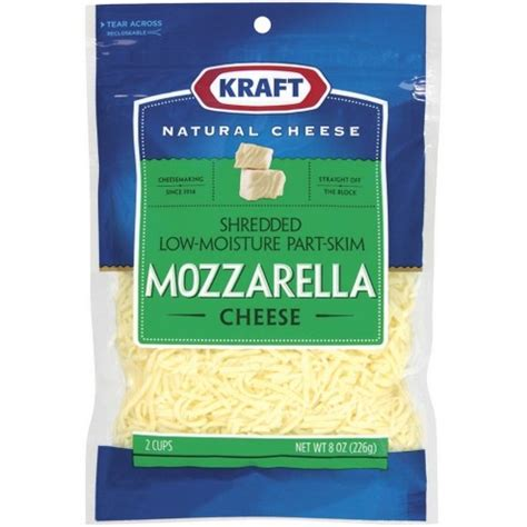 Mozarella Cheese 1 kraft shredded mozzarella cheese 8 oz starfish market