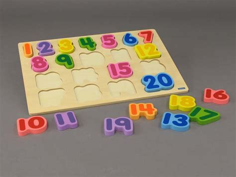 Chunky Puzzle Numbers Puzzle Chunky Angka numbers 1 20 puzzle chunky cuyahoga county library