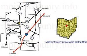 morrow county ohio locational maps