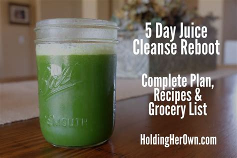 5 Day Detox Plan Juice by 1000 Ideas About 5 Day Juice Cleanse On 7 Day