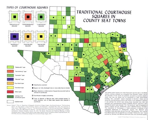 texas county seat map images