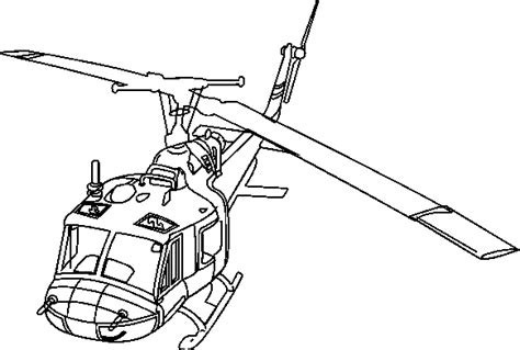 huey helicopter coloring page huey helicopter drawing