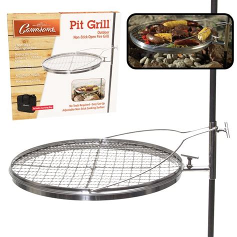 pit grill open pit grill from camerons products