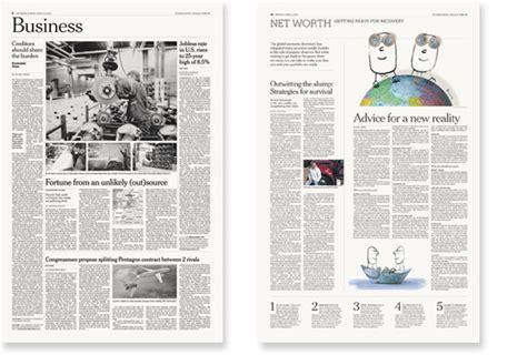 design editor new york times international herald tribune editorial design