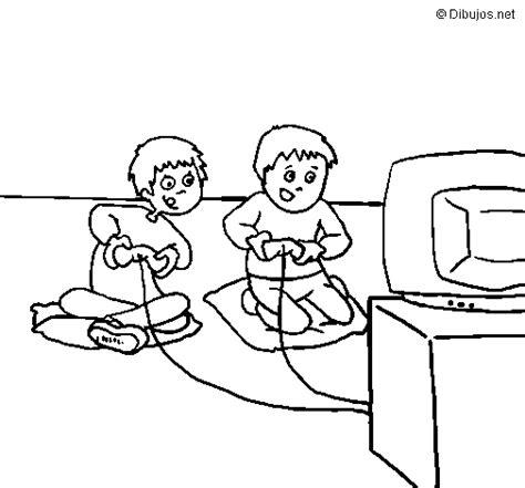 imagenes de niños jugando ula ula dibujo de ni 241 os jugando para colorear dibujos net