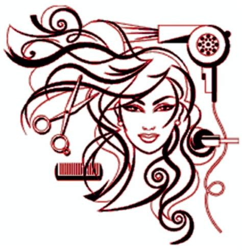 graphics hair design cosmetologist pictures clip art clipart best