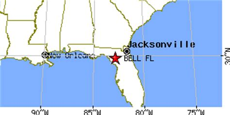 bell florida map bell florida fl population data races housing economy