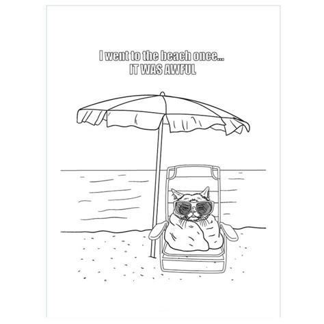 coloring images  pinterest grump cat grumpy