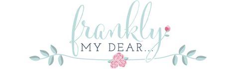 my dear frankly my dear