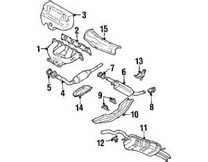 2002 Jetta Exhaust System Diagram 2002 Volkswagen Jetta Parts Mileoneparts