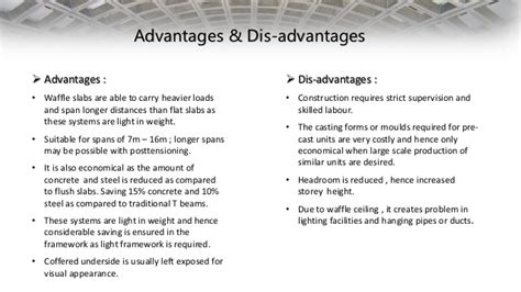 Advantages Of Flatsharing by Advantages And Disadvantages Of Concrete Suspended Floors