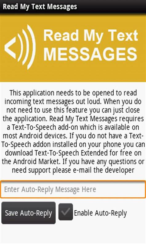 android read text read my text messages android apps on play