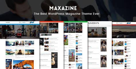 theme buzz blog maxazine nachrichten zeitschrift u blog wordpress