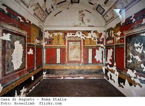 casa di augusto roma casa di augusto afrescos roma antiga roma italia