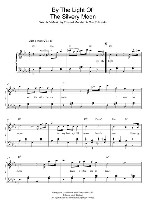 by the light of the silvery moon by little richard youtube doris day by the light of the silvery moon sheet music