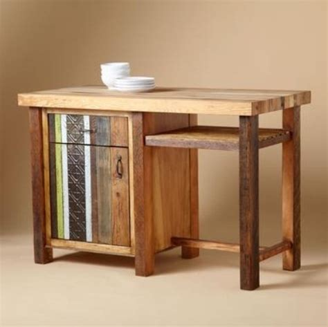 Wooden Kitchen Island Table 28 Vintage Wooden Kitchen Island Designs Digsdigs