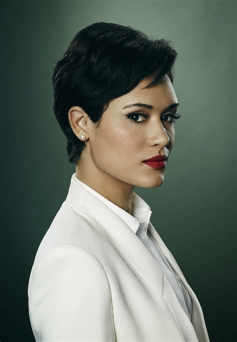 actress with short hair on empire tv show empire grace gealey as anika gibbons blackfilm com read