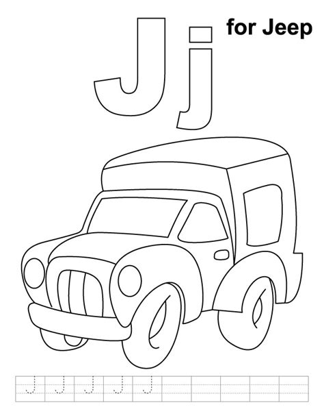 Sheets Jeep Jeep Coloring Pages Az Coloring Pages