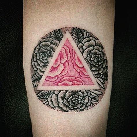 pink triangle tattoo 78 best images about flower wind board for thea on