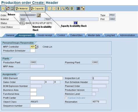 sap production order table creating a sap production order process order saps