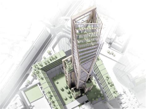 furniture design competition london daily commercial news london timber skyscraper concept