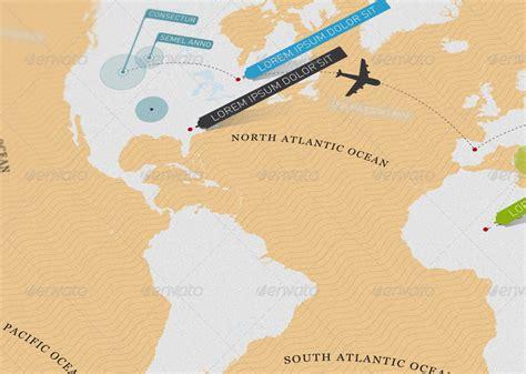 minimal world map get minimal world map by tanpopo graphicriver