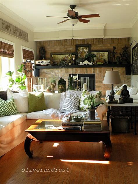 Celerie Kemble charming eclectic vintage home oliver and rust town
