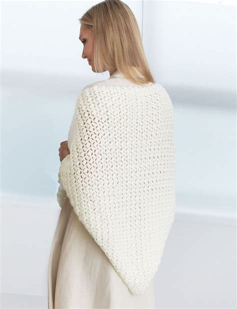 knitting pattern prayer shawl yarnspirations com bernat crochet prayer shawl free