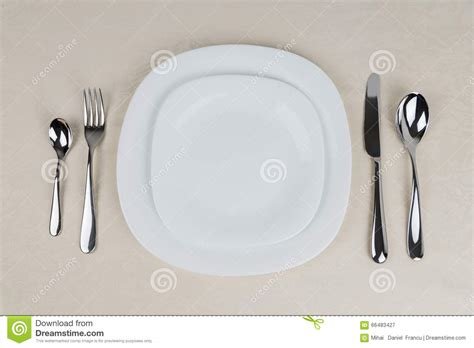 table setting cutlery table setting stock photo image 66483427