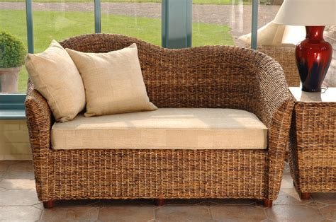 conservatory settee cane conservatory furniture laluna sofa cane sofa candle and blue