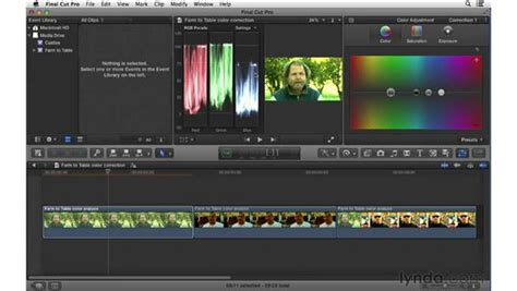 color correction workflow following a proper color correction workflow