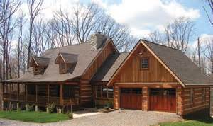 Cabin Plans With Garage Log House Plans With Garage House Design Plans