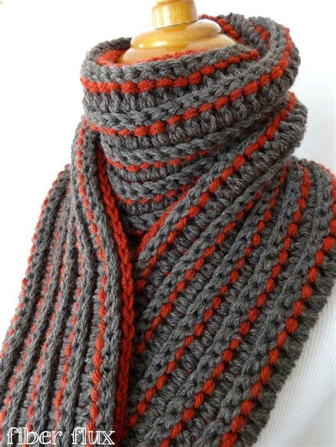 scarf pattern pinterest the every man scarf free crochet pattern from fiber flux