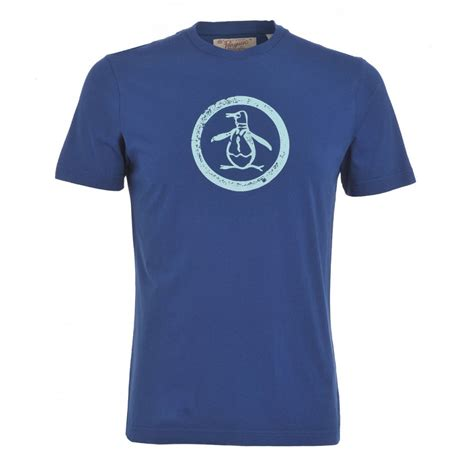 T Shirt Original 1 original penguin t shirt blue circle distressed logo 1efk0311