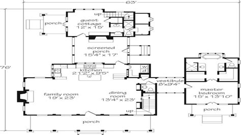 southern energy homes floor plans southern living floor plans with guest houses southern