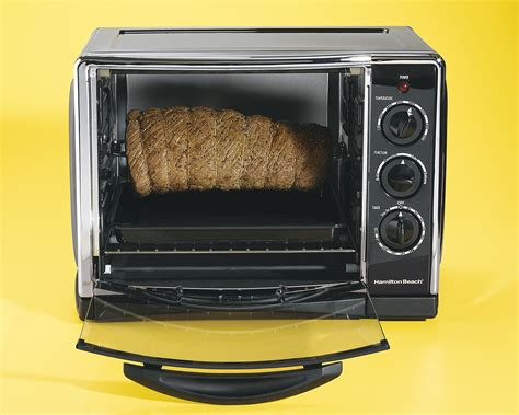 Hamilton 31197 Countertop Oven With Convection And Rotisserie by Hamilton 31197r Kitchen Countertop Oven Broiler W