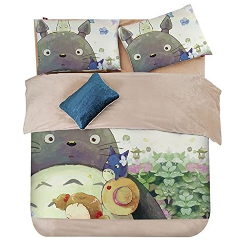Totoro Comforter by Best Anime Bedding Sets For