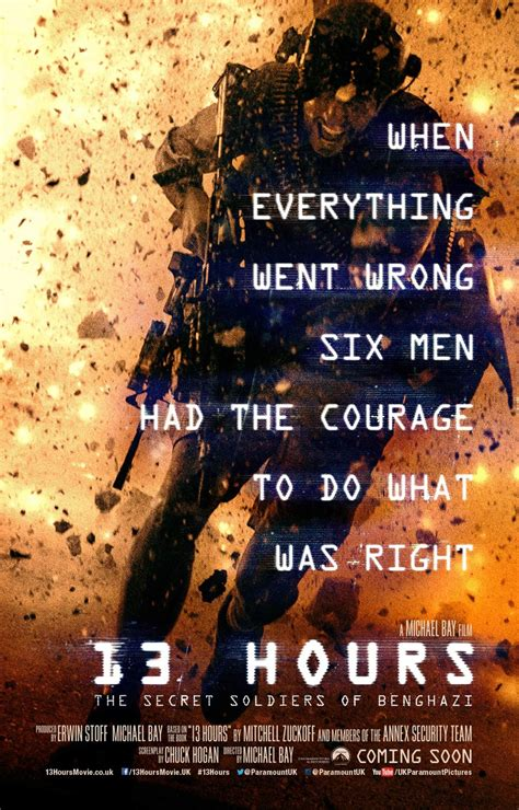 soldiers of 13 hours the secret soldiers of benghazi 2016 poster 1