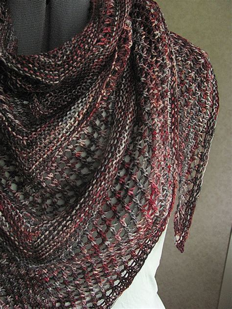 shawl pattern variegated yarn 15 beautiful knitted shawls for beginners