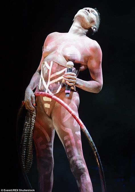 actress grace jones dead topless grace jones 67 hits the stage as she headlines