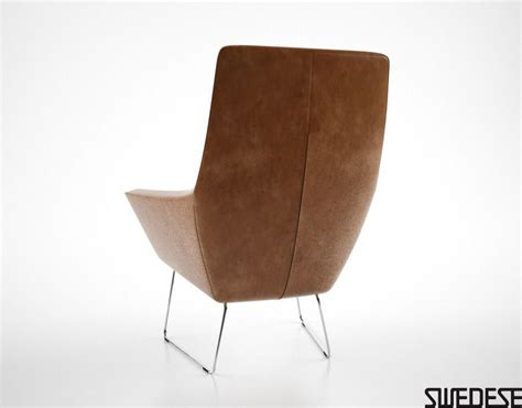 swedese happy easy chair 3d model max obj fbx