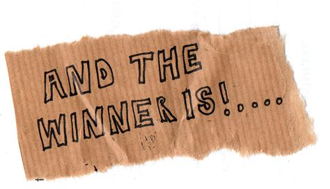 And The Wiiiiinner Is by And The Winner Is Allthingslearning
