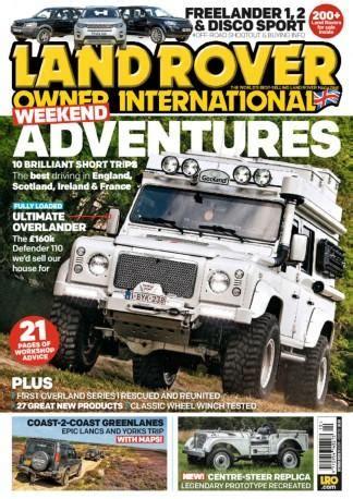 land rover magazines uk land rover owner international uk magazine subscription