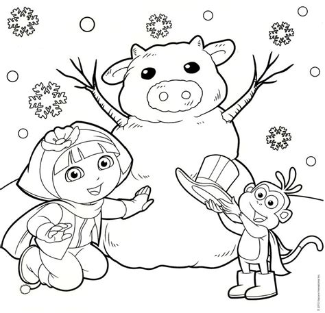 baby dora coloring pages 1000 images about printable coloring pages for kids on