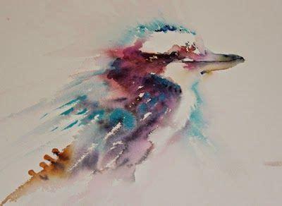 watercolor crayon tattoos watercolours with kookaburra in watercolour
