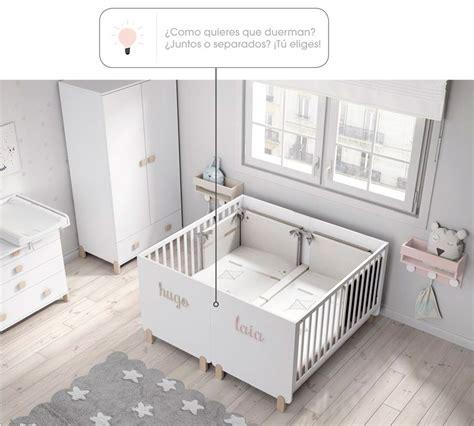 cuna para gemelos cuna cama gemelar nueva colecci 243 n tienda en madridblog