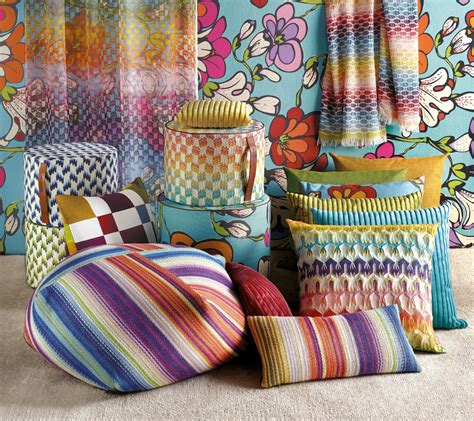 il decor boston a distinct line of missoni home furnishings