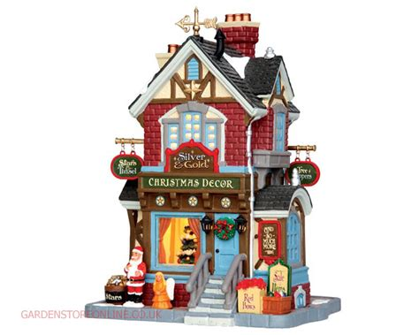 lemax christmas villages lemax silver gold shop garden store