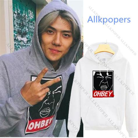Sale Sweater Hoodie Exo We Are One kpop exo sehun cap hoodie sweater merchandise sweatershirt pullover coat outwear ebay