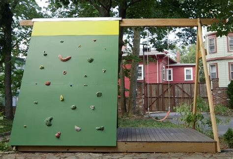 Backyard Climbing Walls by 21 Outrageously Diy Projects For Your Backyard